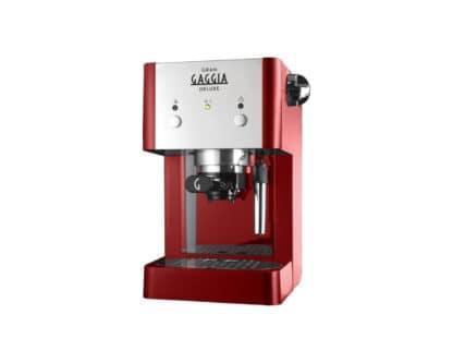 Παραδοσιακή Μηχανή Καφέ Espresso Gran Gaggia Deluxe Red